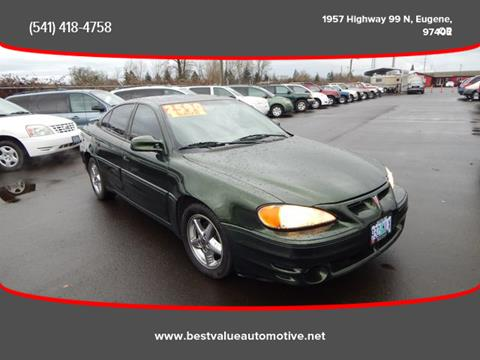 2000 Pontiac Grand Am for sale in Eugene, OR