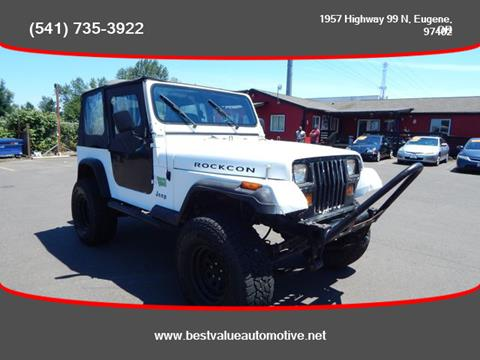 1994 Jeep Wrangler for sale in Eugene, OR