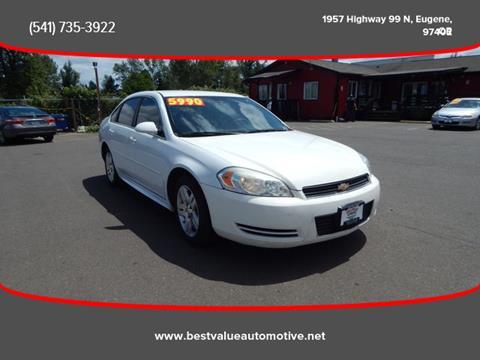2010 Chevrolet Impala for sale in Eugene, OR