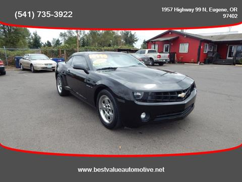 2011 Chevrolet Camaro for sale in Eugene, OR