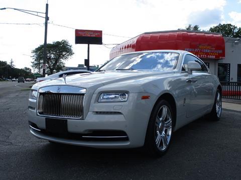 Used Rolls Royce For Sale >> 2015 Rolls Royce Wraith For Sale In Redford Mi