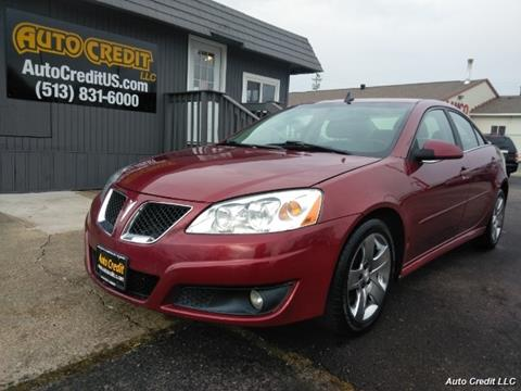 2010 Pontiac G6 for sale in Milford, OH
