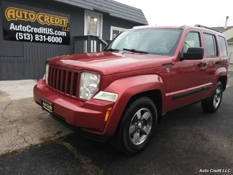 2008 Jeep Liberty for sale in Milford, OH