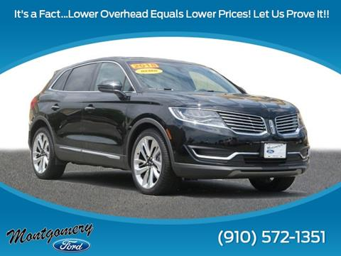 2018 Lincoln MKX for sale in Troy, NC