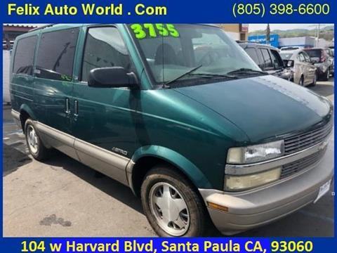 2002 Chevrolet Astro for sale in Santa Paula, CA