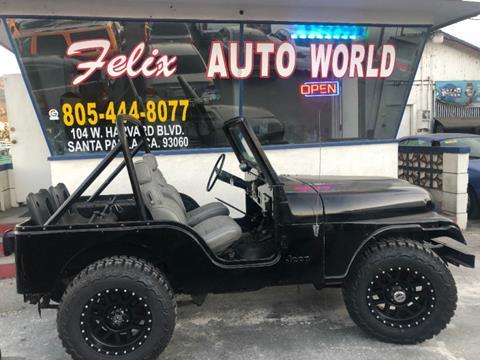 1978 Jeep Wrangler for sale in Santa Paula, CA