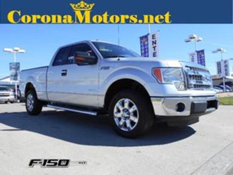 2013 Ford F-150 for sale in Ontario, CA