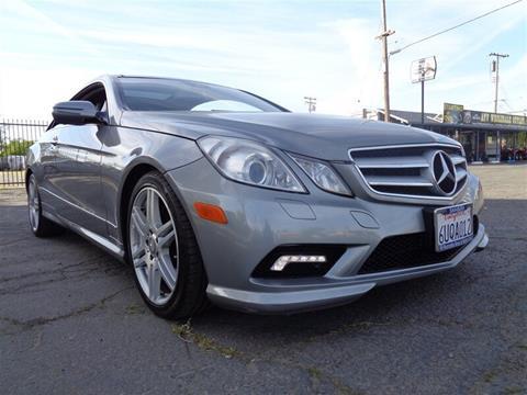 Mercedes Benz Of Sacramento >> Mercedes Benz E Class For Sale In Sacramento Ca Prestige