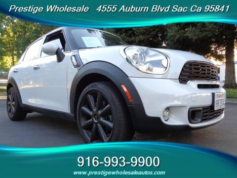2012 MINI Cooper Countryman for sale at Prestige Wholesale in Sacramento CA
