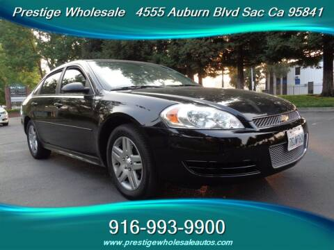2014 Chevrolet Impala Limited for sale at Prestige Wholesale in Sacramento CA