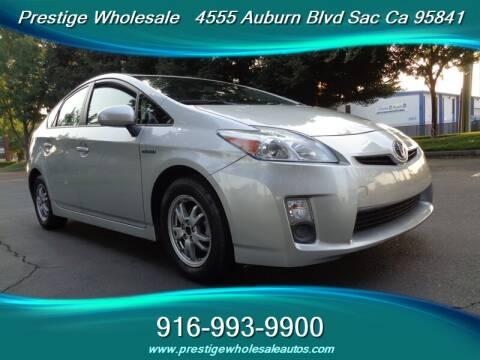 2010 Toyota Prius for sale at Prestige Wholesale in Sacramento CA
