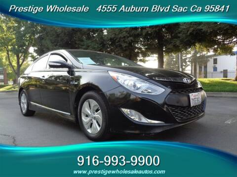 2013 Hyundai Sonata Hybrid for sale at Prestige Wholesale in Sacramento CA