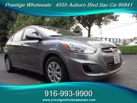 2015 Hyundai Accent for sale at Prestige Wholesale in Sacramento CA