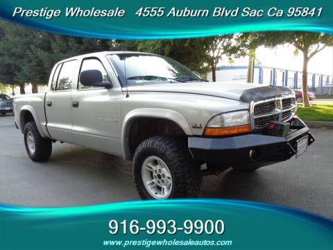 2000 Dodge Dakota for sale at Prestige Wholesale in Sacramento CA