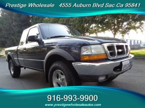 2000 Ford Ranger for sale at Prestige Wholesale in Sacramento CA