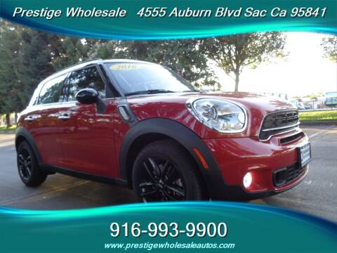 2016 MINI Countryman for sale at Prestige Wholesale in Sacramento CA