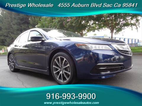 2016 Acura TLX for sale at Prestige Wholesale in Sacramento CA