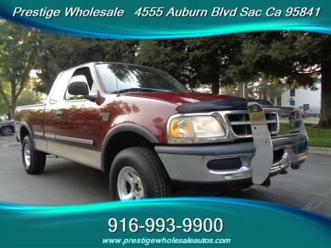 1998 Ford F-150 for sale at Prestige Wholesale in Sacramento CA