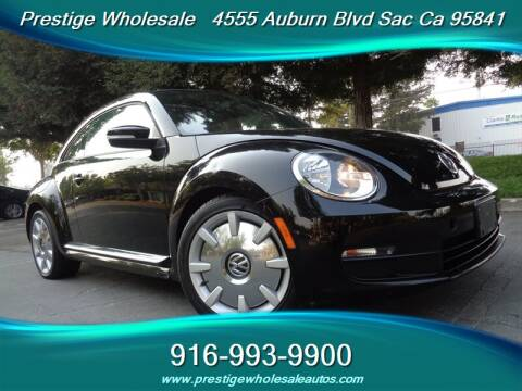 2012 Volkswagen Beetle for sale at Prestige Wholesale in Sacramento CA