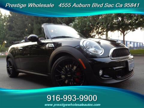 2011 MINI Cooper for sale at Prestige Wholesale in Sacramento CA