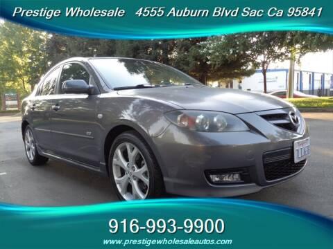 2008 Mazda MAZDA3 for sale at Prestige Wholesale in Sacramento CA