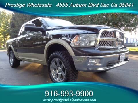 2011 RAM Ram Pickup 1500 for sale at Prestige Wholesale in Sacramento CA