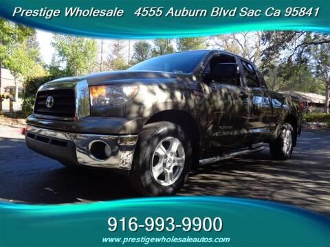 2008 Toyota Tundra for sale at Prestige Wholesale in Sacramento CA