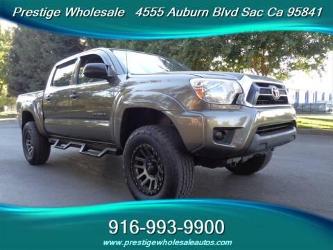 2013 Toyota Tacoma for sale at Prestige Wholesale in Sacramento CA