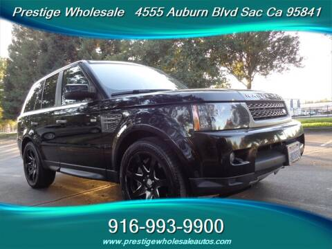 2010 Land Rover Range Rover Sport for sale at Prestige Wholesale in Sacramento CA