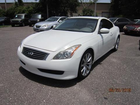 2009 Infiniti G37 Coupe for sale in Saint Petersburg, FL
