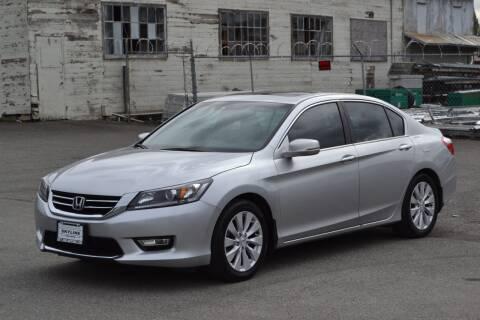 2015 Honda Accord for sale at Skyline Motors Auto Sales in Tacoma WA
