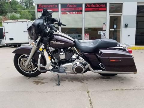Harley Davidson Used >> 2007 Harley Davidson Street Glide For Sale In Hot Springs Sd