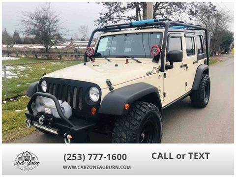 2011 Jeep Wrangler Unlimited for sale in Auburn, WA