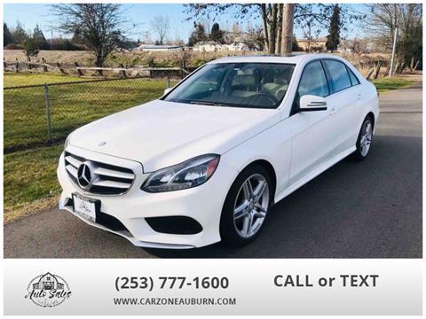 2014 Mercedes-Benz E-Class for sale in Auburn, WA