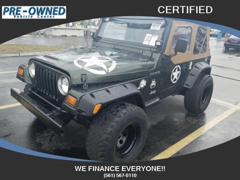 1998 Jeep Wrangler for sale in Hollywood, FL