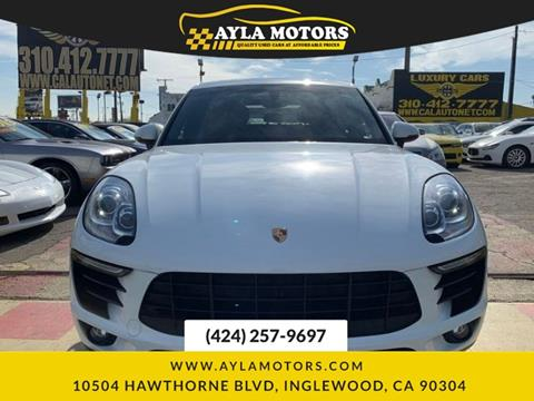 2016 Porsche Macan for sale in Inglewood, CA