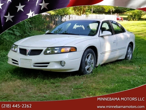 2003 Pontiac Bonneville for sale in Verndale, MN