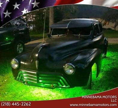 1948 Oldsmobile Custom Cruiser for sale in Verndale, MN