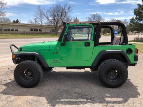 2004 Jeep Wrangler for sale in Plainville, KS