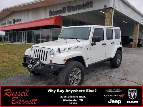 2013 Jeep Wrangler Unlimited for sale in Winchester, TN