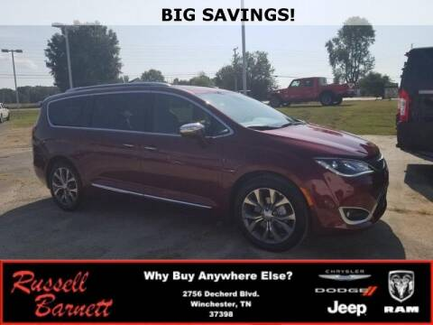2020 Chrysler Pacifica for sale at Russell Barnett Chrysler Dodge Jeep Ram in Winchester TN