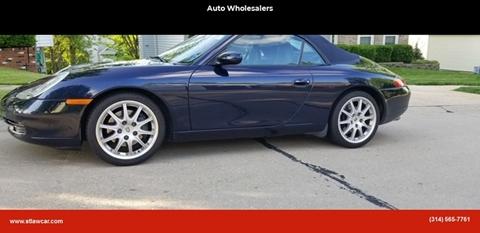 2001 Porsche 911 for sale at Auto Wholesalers in Saint Louis MO