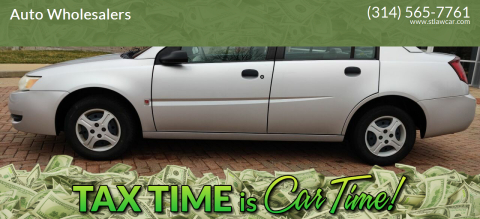 2003 Saturn Ion for sale at Auto Wholesalers in Saint Louis MO