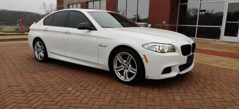 2013 BMW 5 Series for sale at Auto Wholesalers in Saint Louis MO