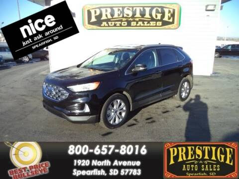 2019 Ford Edge for sale at PRESTIGE AUTO SALES in Spearfish SD