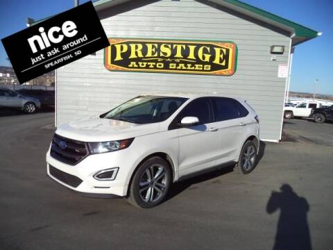 2017 Ford Edge for sale at PRESTIGE AUTO SALES in Spearfish SD