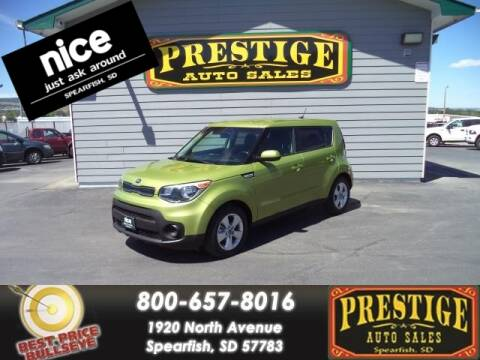 2018 Kia Soul for sale at PRESTIGE AUTO SALES in Spearfish SD