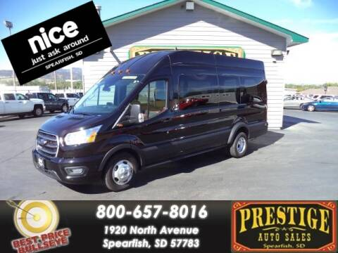 2020 Ford Transit Passenger for sale at PRESTIGE AUTO SALES in Spearfish SD