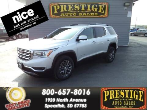 2019 GMC Acadia for sale at PRESTIGE AUTO SALES in Spearfish SD