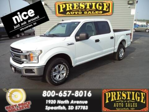 2020 Ford F-150 for sale at PRESTIGE AUTO SALES in Spearfish SD